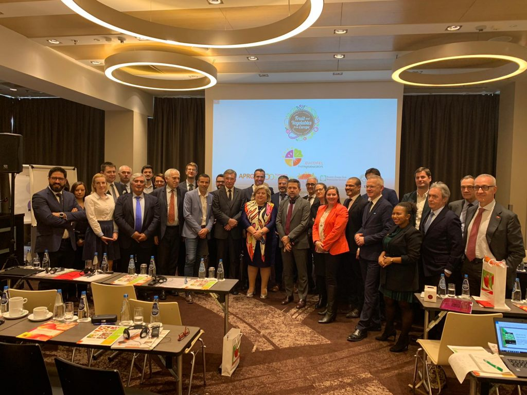 FruitVegetablesEUROPE debates trade opportunities at General Assembly & Event 2019