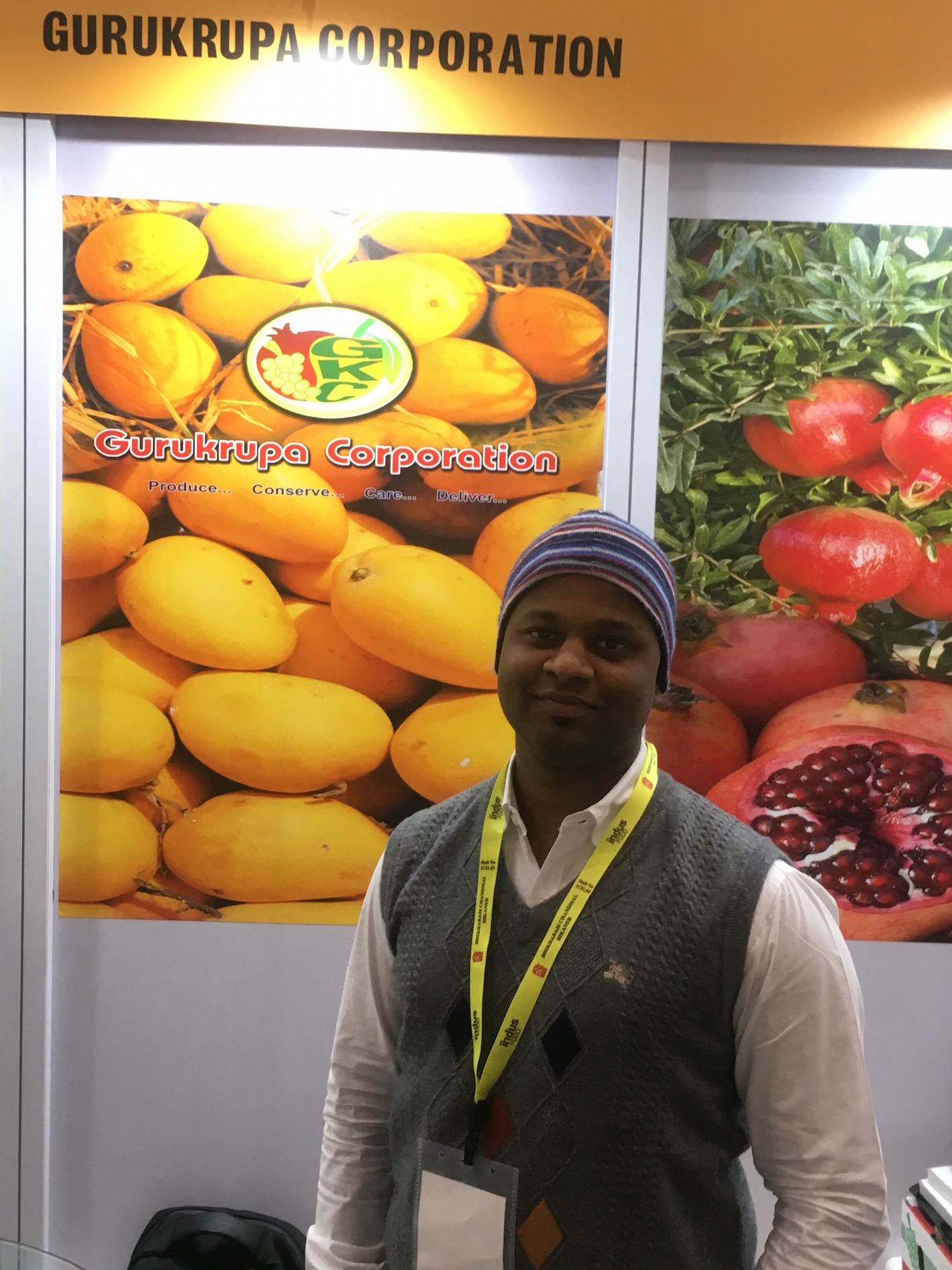 Gurukrupa, a prominent Indian fruit exporter and importer