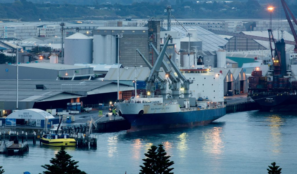 First charter ship carrying Zespri Kiwifruit sets sail for China and Japan