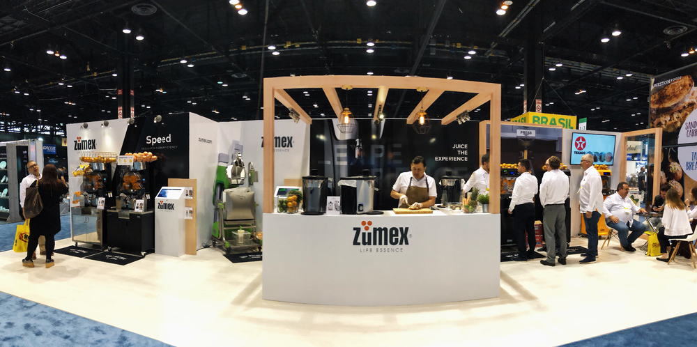 ZUMEX® celebrates its 25th anniversary in the USA with the launch of its new Multifruit commercial juicer