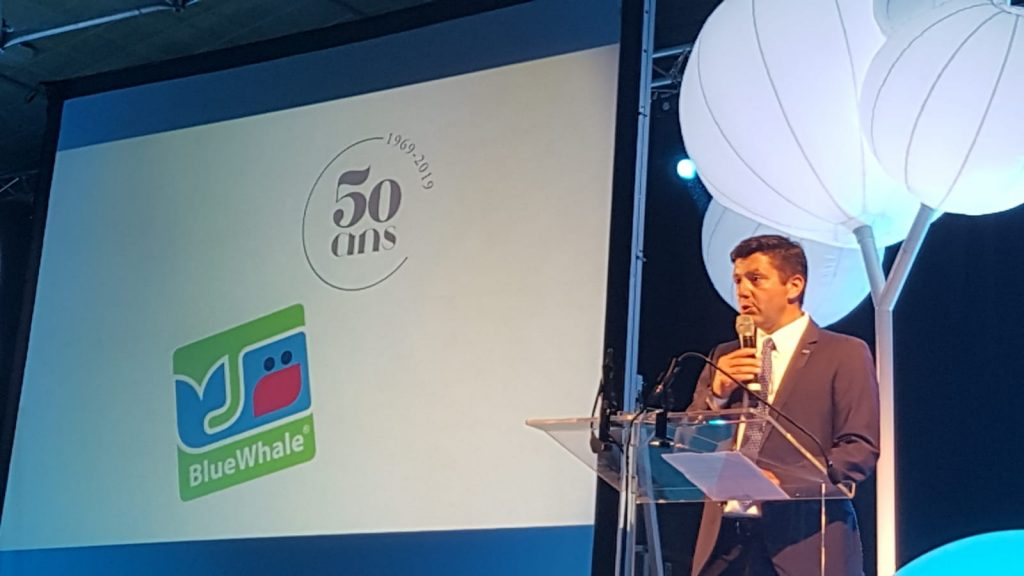 BlueWhale, 50 years celebration of the leading French apple brand