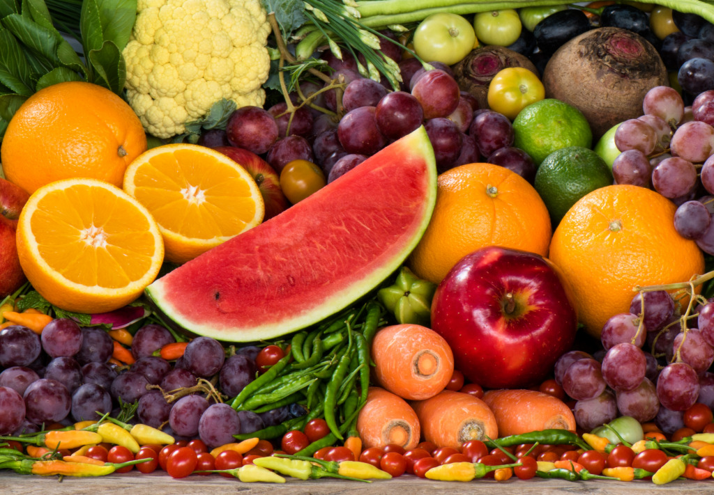 Recommended daily fruit and vegetable intake costs around $2.50 in US