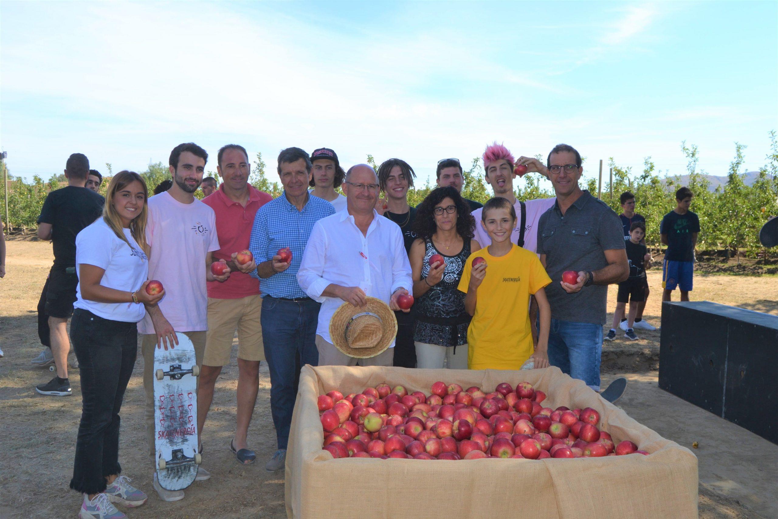 Bumper apple harvest for Girona