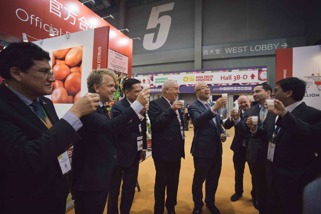 Peru conquers Asian markets as a Partner Country at Asia Fruit Logistica 2019