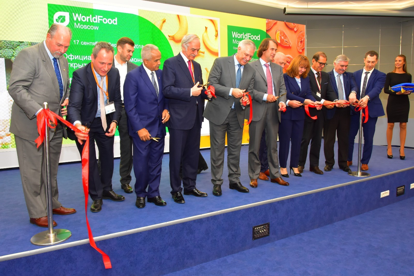 WorldFood Moscow 2019 hosted more than 1,500 suppliers from 65 countries and 40 Russian regions, attracting more than 30,000 visito