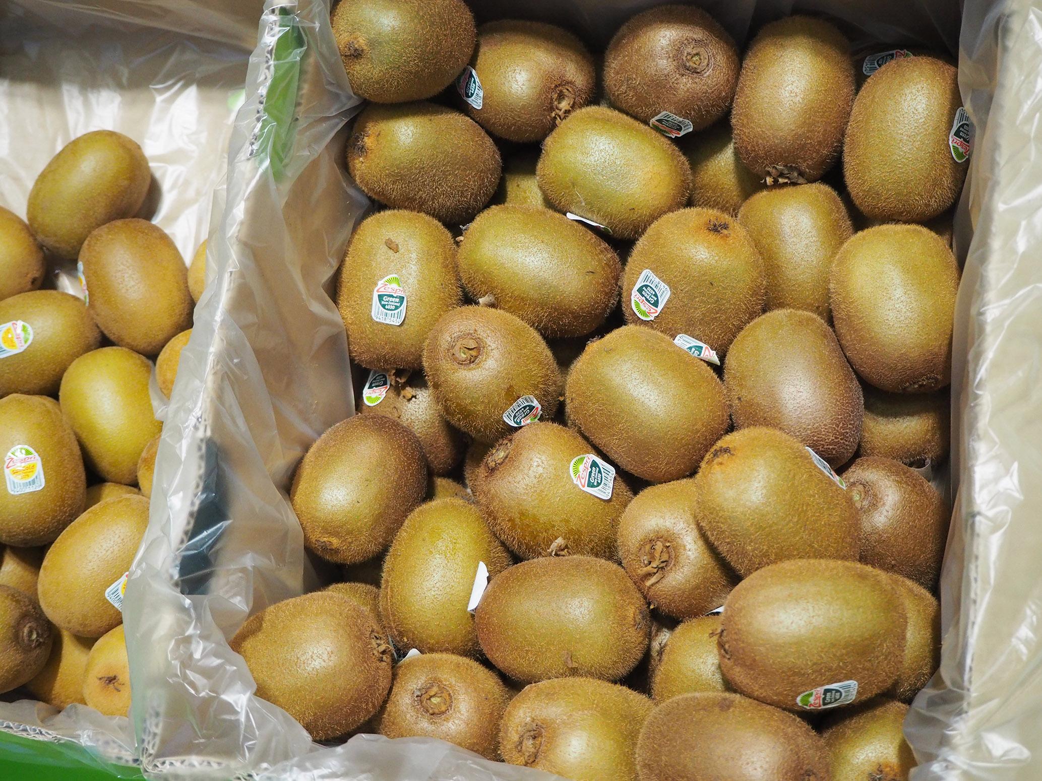 Zespri's kiwifruit at Fruit Attraction 2019 (ct. Alexandra Sautois, Eurofresh)