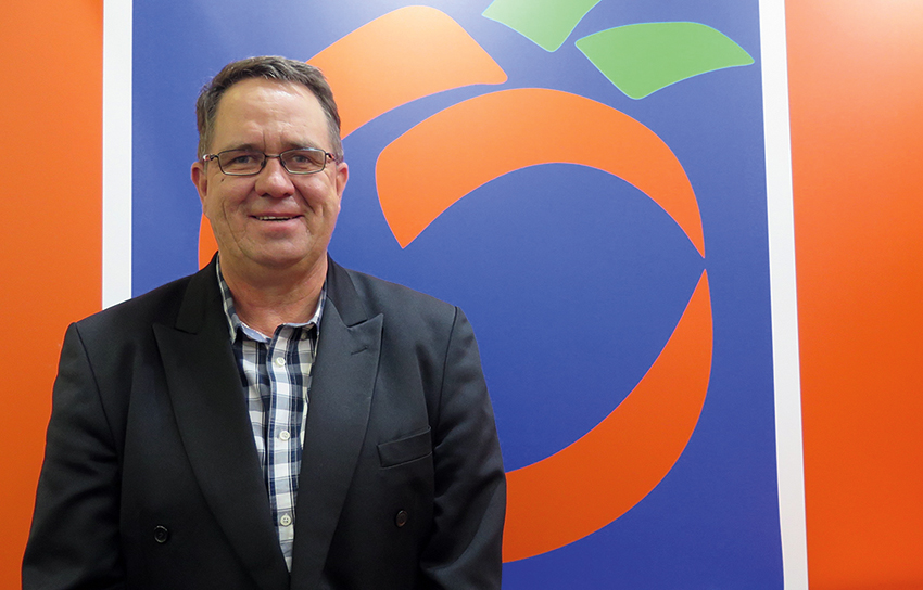 SRCC becomes more Mediterranean, photo of Hannes de Waal,managing director of Sundays River Citrus Company