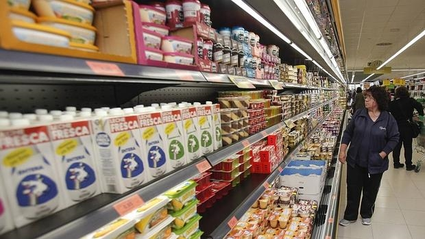 Spaniards spend more but consume less fresh produce