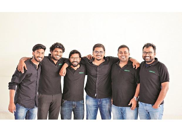 Indian startup Ninjacart backed by Walmart and Flipkart, Credit:Business Standard