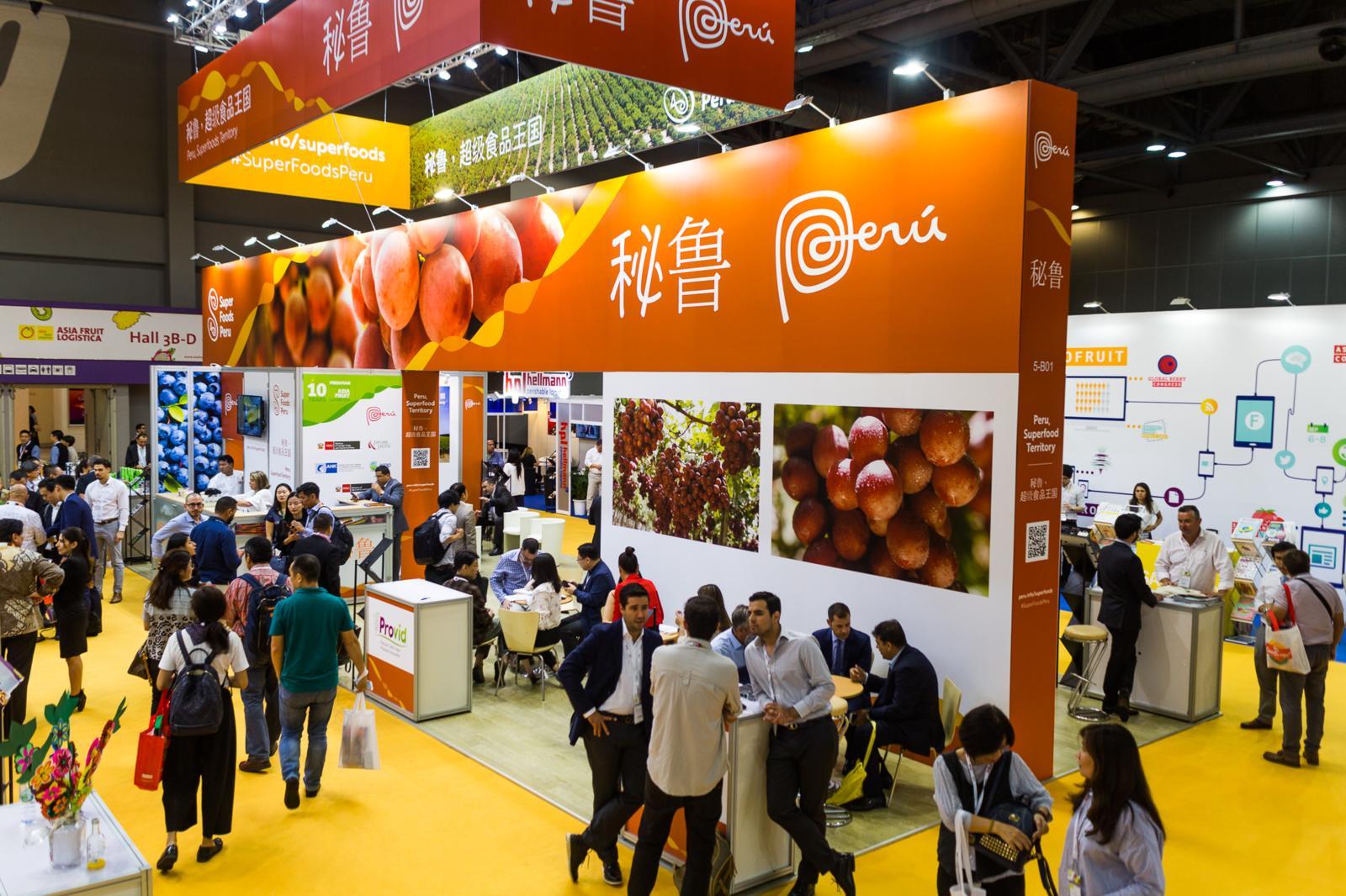 Peru returns as Official Partner Country at Asia Fruit Logistica 2020