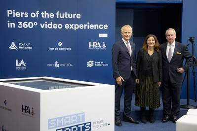 Future of shipping showcased at 'Piers of the Future' event