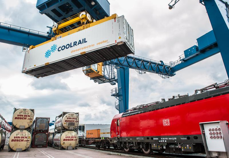 CoolRail, the first European rail service for fresh produce, Credit:Sandra Zeillstra (FLD)