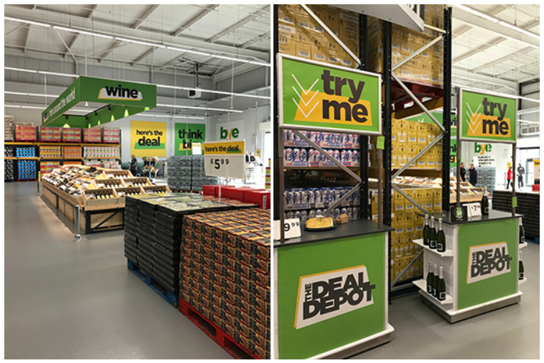 Asda opens first warehouse store named The Deal Depot, Credit: IGD Research