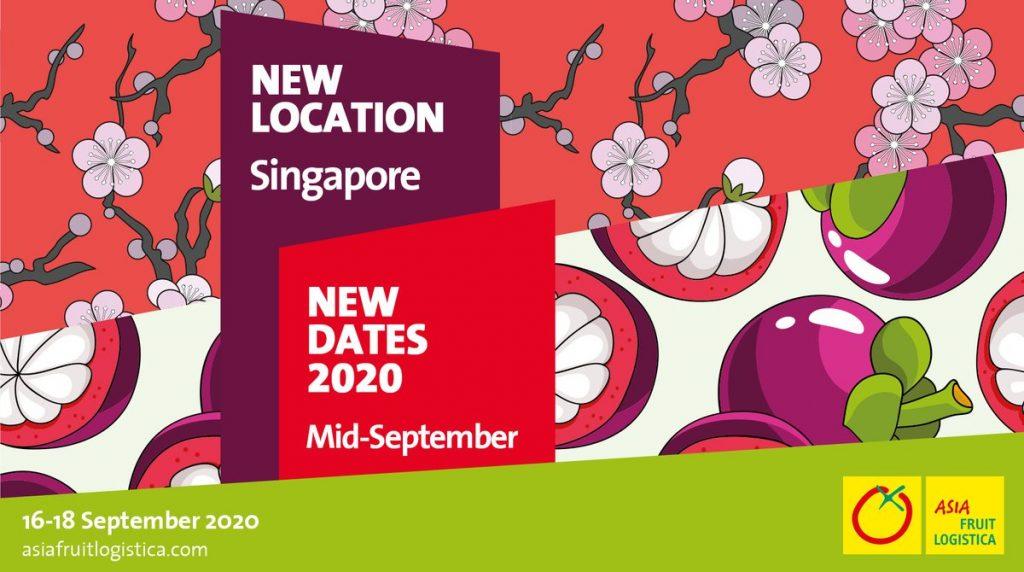 Singapore to host Asia Fruit Logistica 2020