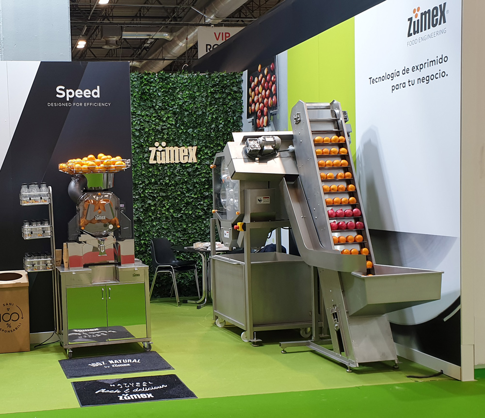 ZUMEX® to present its success stories in Fruit Logistica with its industrial juicing projects