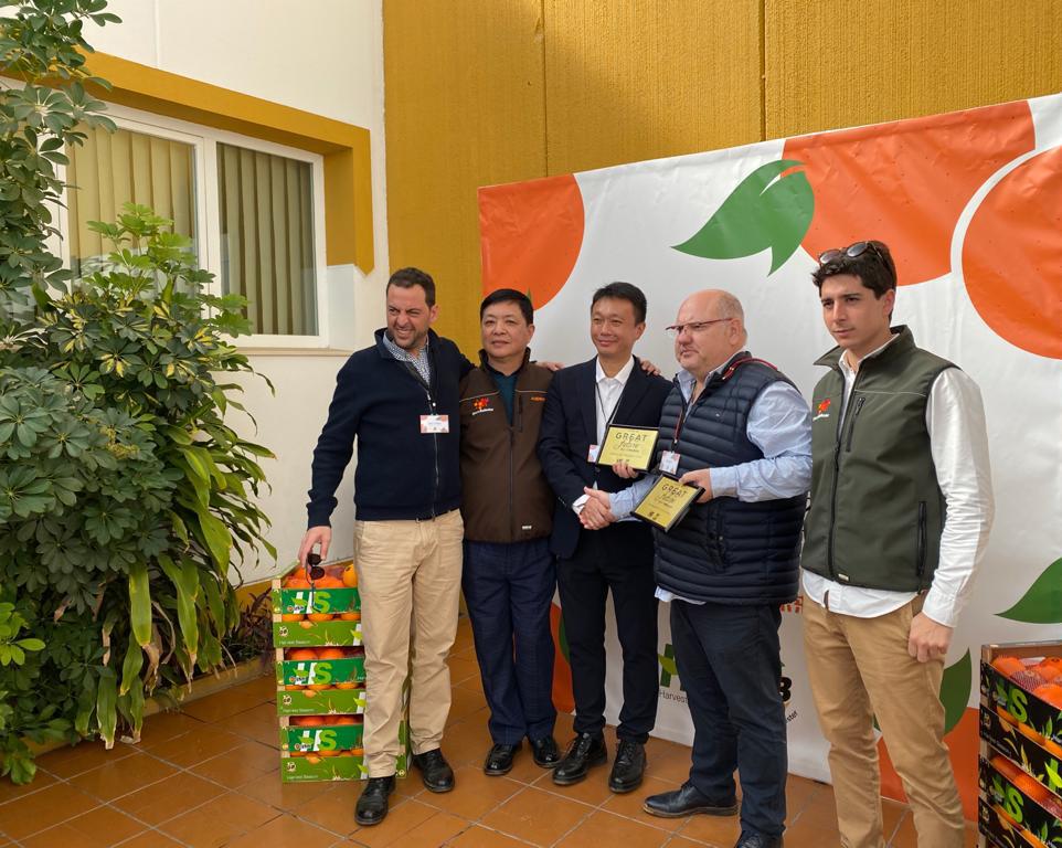 New start for Harvest Season and garciaBallester in Asian citrus market