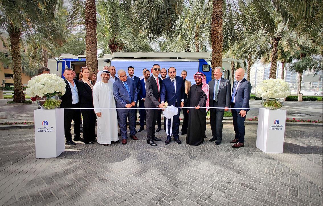 Carrefour unveils Mobimart: the region's first grocery bus, © Carrefour & Majid Al Futtaim