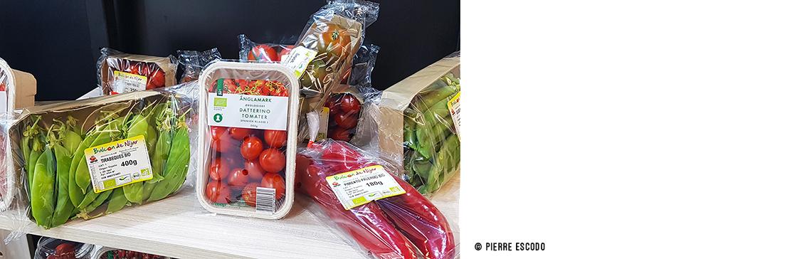 Balcon de Ninjar's products at BIOFACH2020 /// © Pierre Escodo