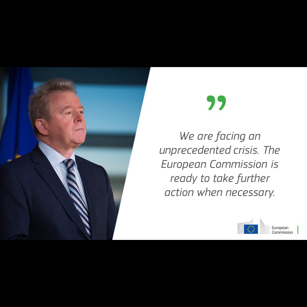 """EU Commission """"ready to continue supporting EU's agri-food sector"""", © EU Agriculture"""