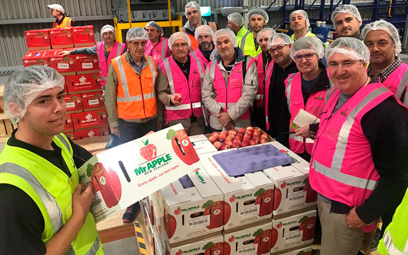 Girona and New Zealand's apple producers join forces