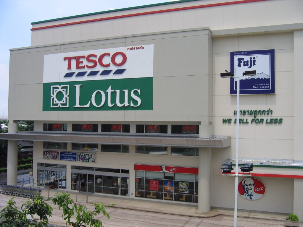 Tesco sells off south-east Asian operations