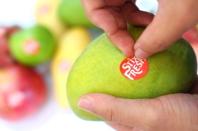Improving fruit shelf life with newly developed sticker