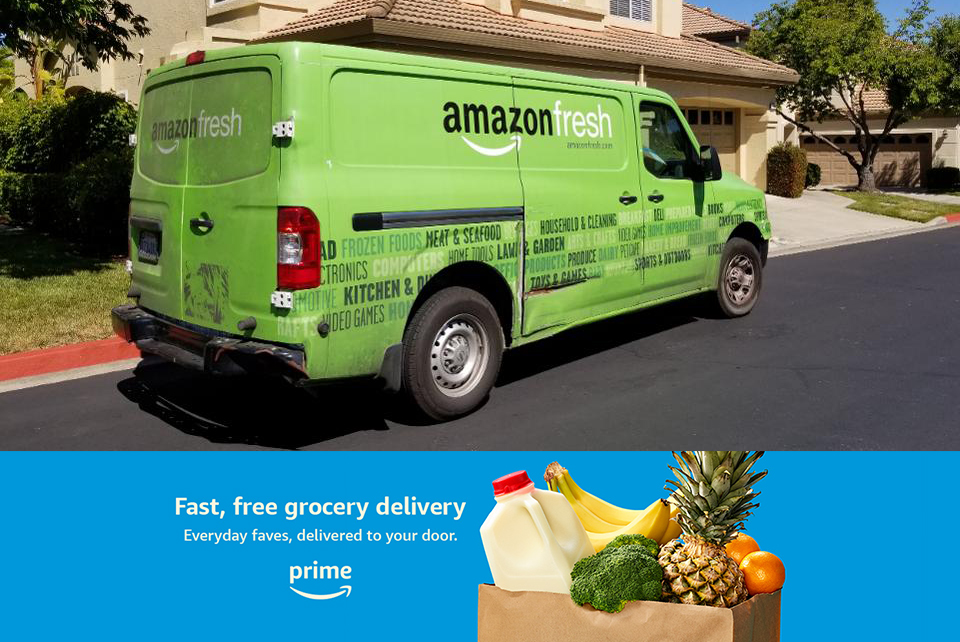 Amazon set to roll out Ultra Fast Fresh delivery in UK
