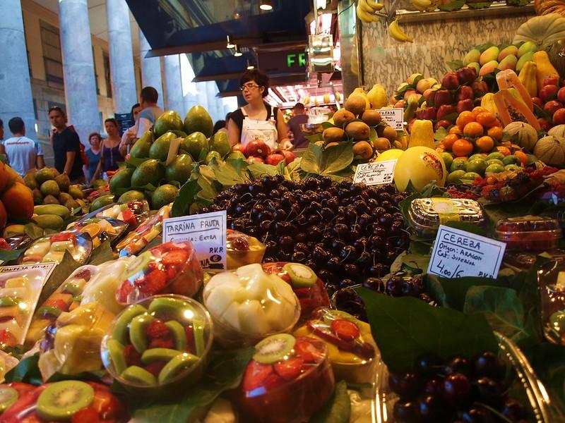 Spaniards' consumption of fresh produce rockets