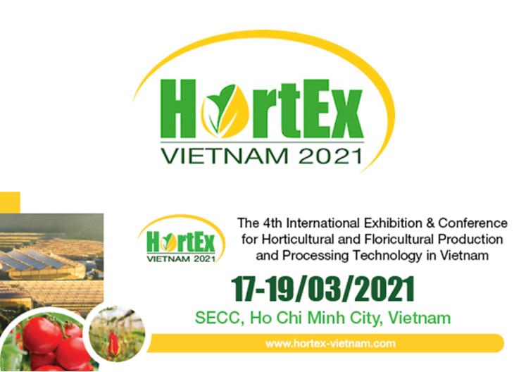 4th HortEx Vietnam expo on 17-19 March 2021