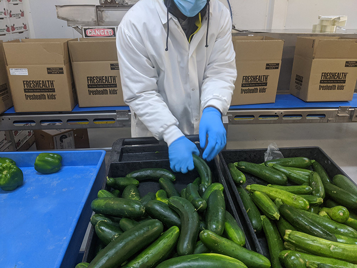 Concerns over spike of Covid-19 cases in US produce sector copyright. United Fresh facebook page, DNO Produce
