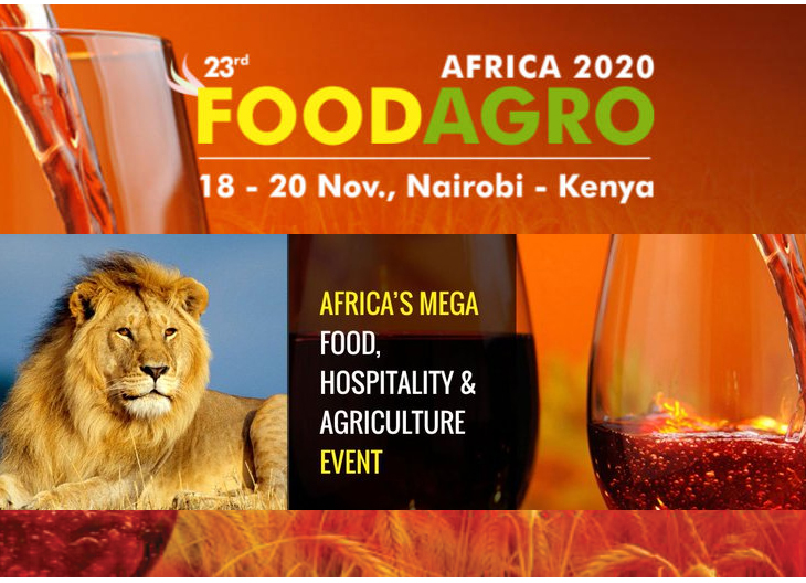 FOODAGRO AFRICA 2020 to host exhibitors from over 26 countries