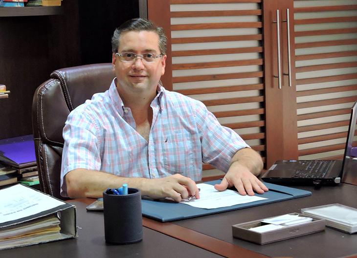 New board of directors for the Mango Ecuador Foundation, Bernardo Malo, CEO and managing member of tropical produce shipping company Refin S.A.