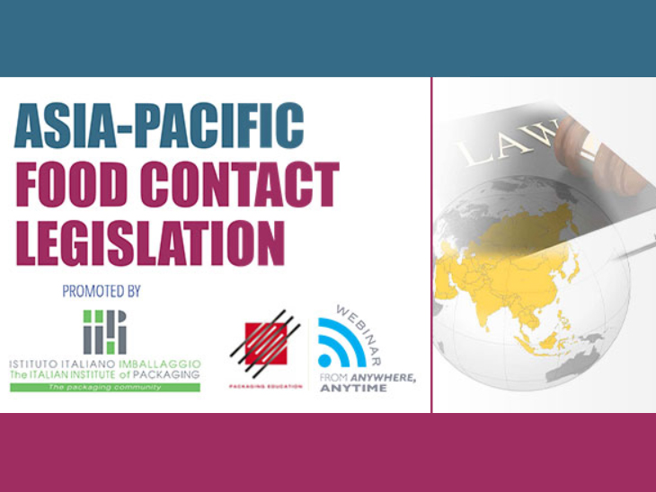 Seminar on Asia-Pacific food contact legislation, copyright. The Italian Institute of Packaging