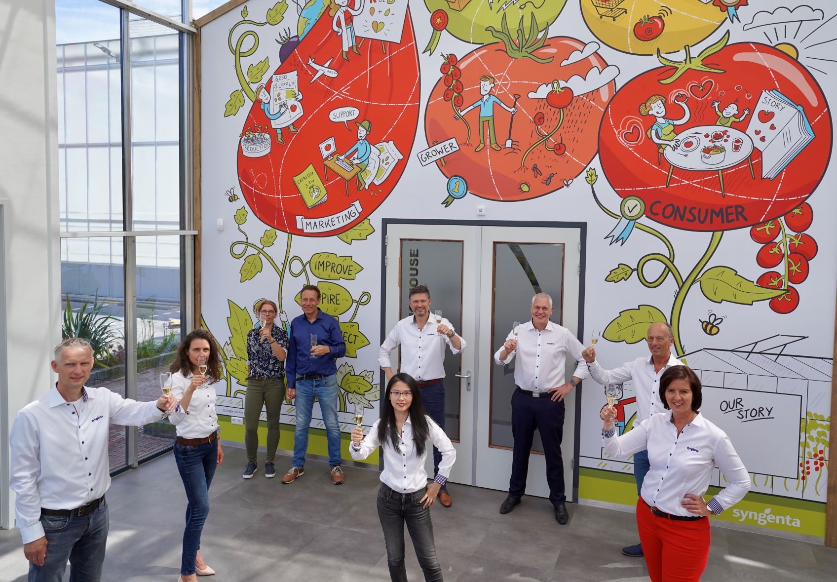 Syngenta Tomato Vision centre opens its doors for virtual visitors