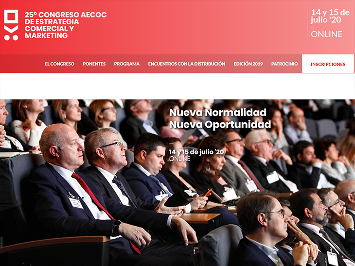 25th AECOC Commercial Strategy and Marketing Congress to analyse consumption in remainder of 2020