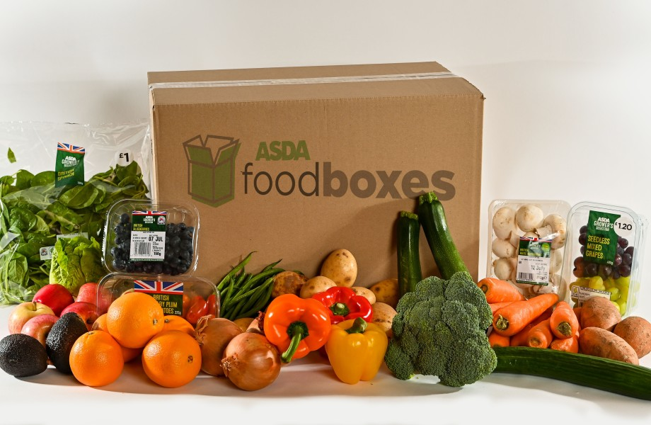 Asda hits the spot with home delivery food boxes
