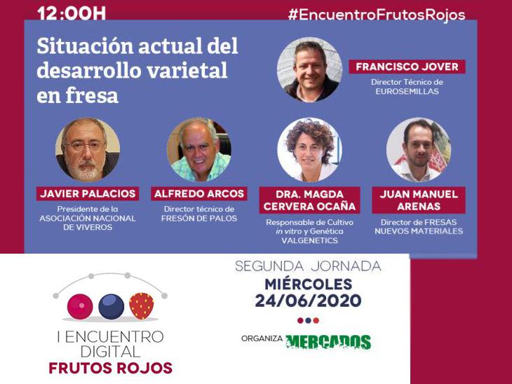 Digital Berry Meeting, organised by Mercados magazine copyright. Mercados revista