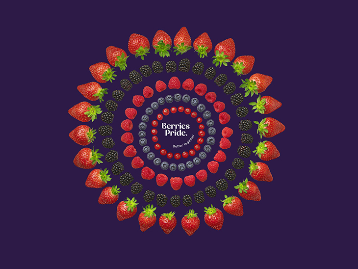 Nature's Pride' soft fruit activities to continue as 'Berries Pride'