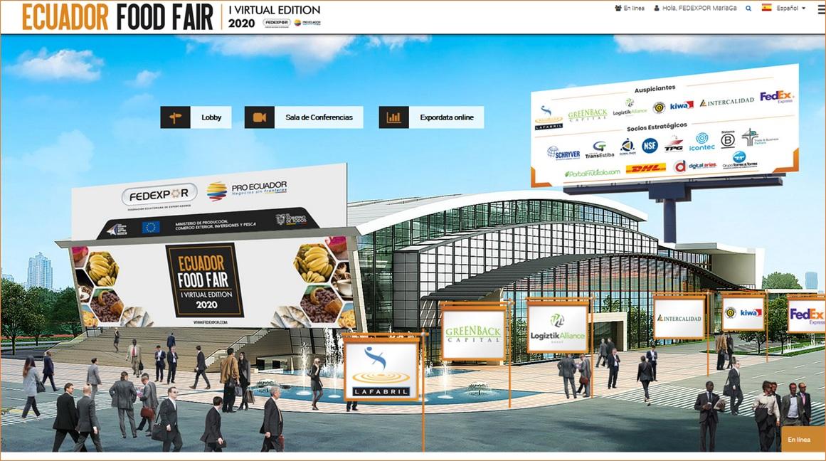 "FEDEXPOR holds successful 1st virtual ""Ecuador Food Fair"""