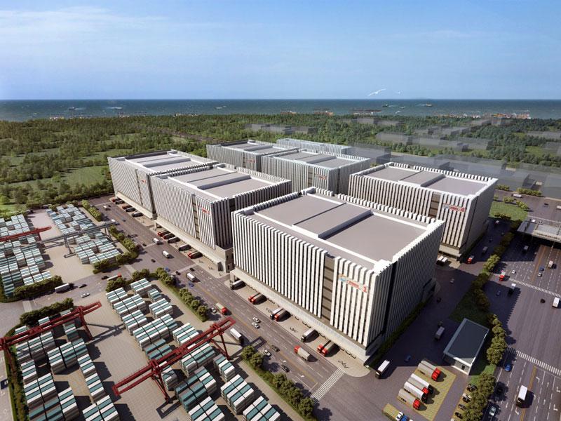 Port of Nansha to build new mega-warehouse complex