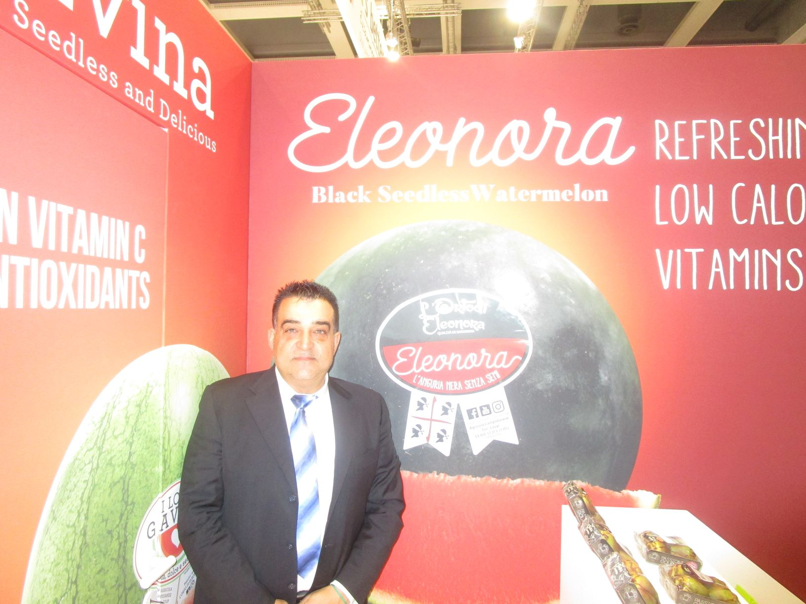 Campidanese presents Eleonora - the new seedless and very sweet watermelon