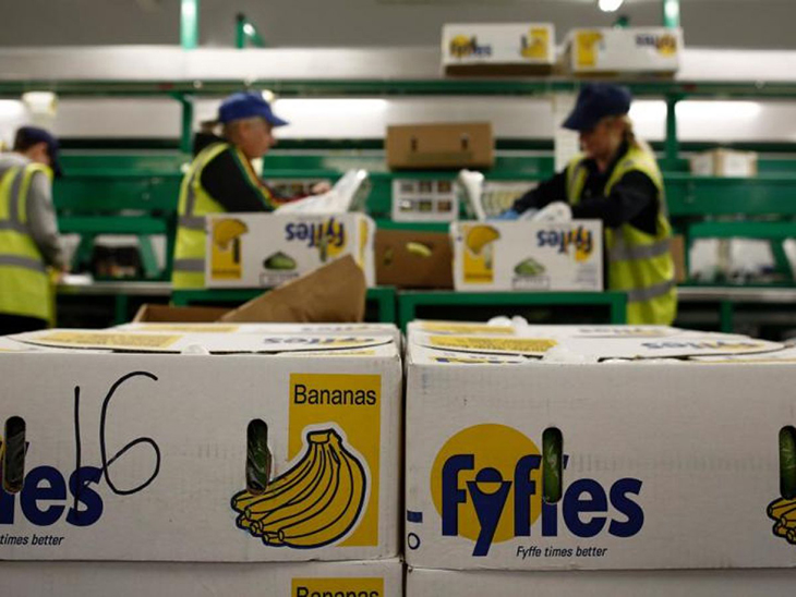 Coronavirus outbreak at Fyffes' Coventry distribution centre © Irish Times