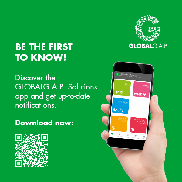GLOBALG.A.P. Solutions – User-Friendly App Available Now