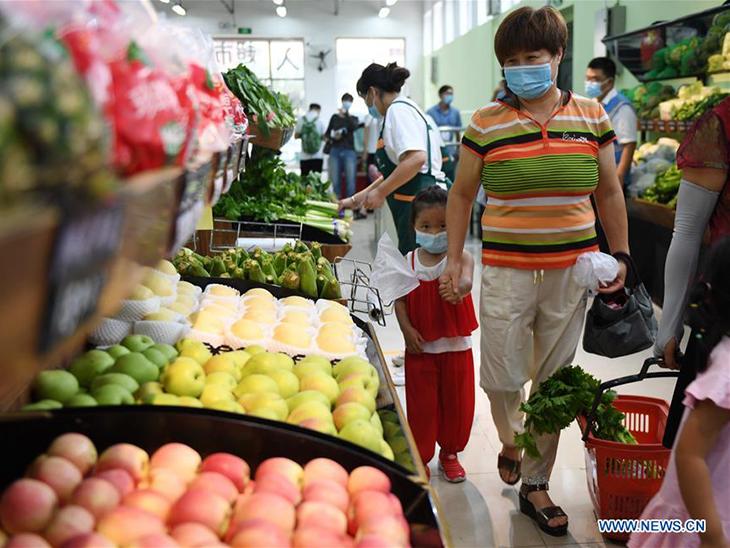 Xinfadi Market reopens in Beijing