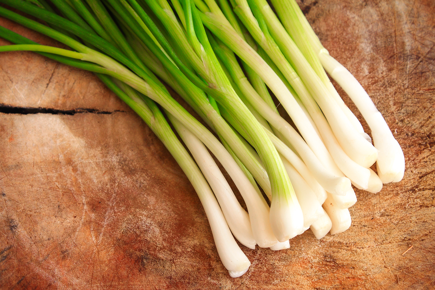Rise in Chinese leek prices