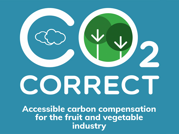 CO₂ Correct offers accessible carbon compensation for the fruit and vegetable industry © CO₂ Correct