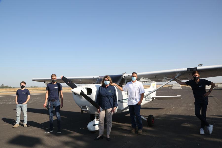 Autonomous aircrafts used to deliver fresh produce © Reliable Robotics Corporation