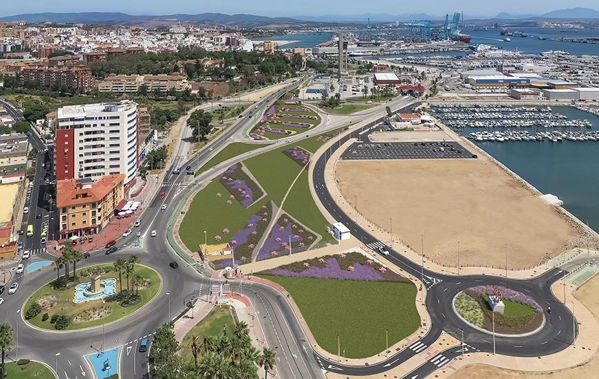 Green Corridor in the Puerto of Algeciras