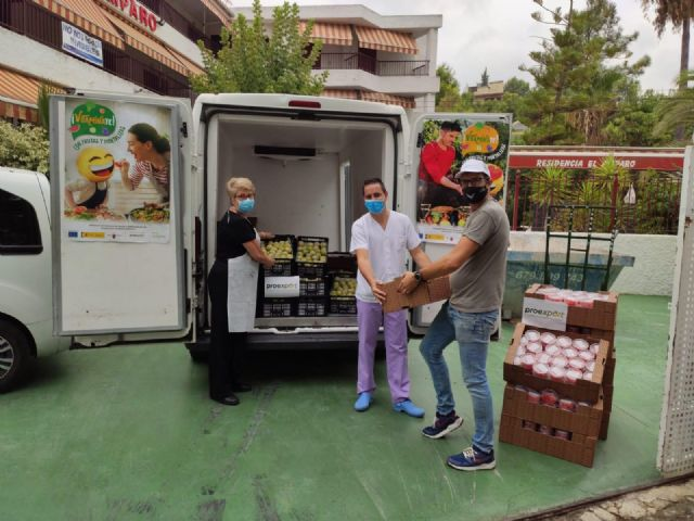 Segura Food Bank distributes 257,600 meals in Murcia donated by School Fruit Programme