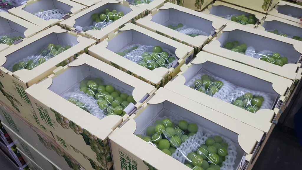 Economic slowdown to reduce China's grape imports